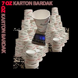 7 Oz 3000 Adet Karton Bardak
